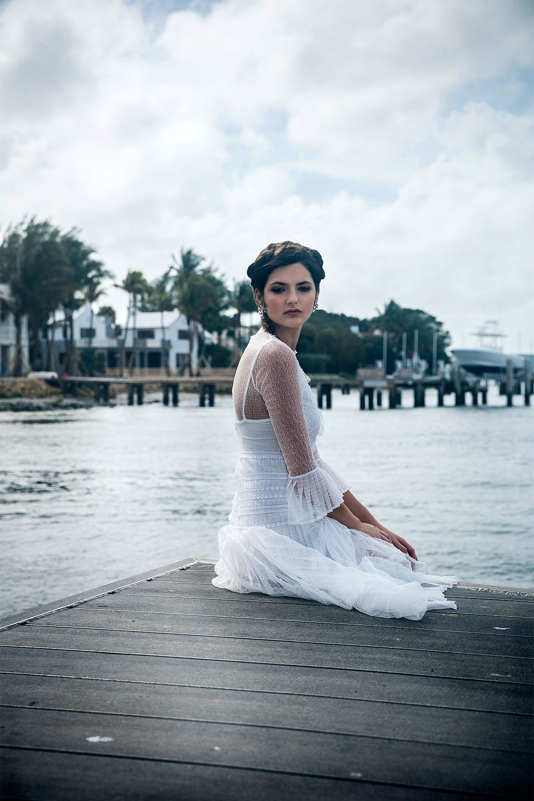 The Bluebell Ivory by Body Frock