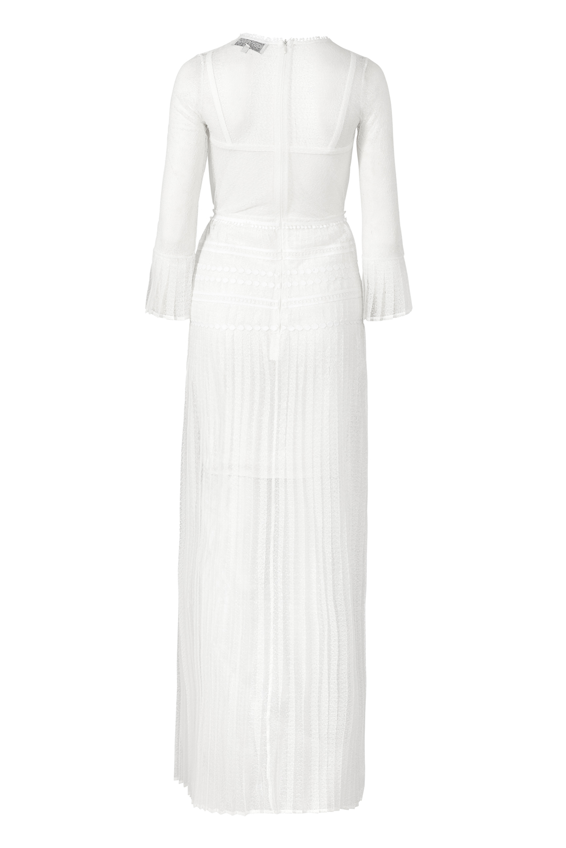 The Bluebell Ivory by Body Frock back