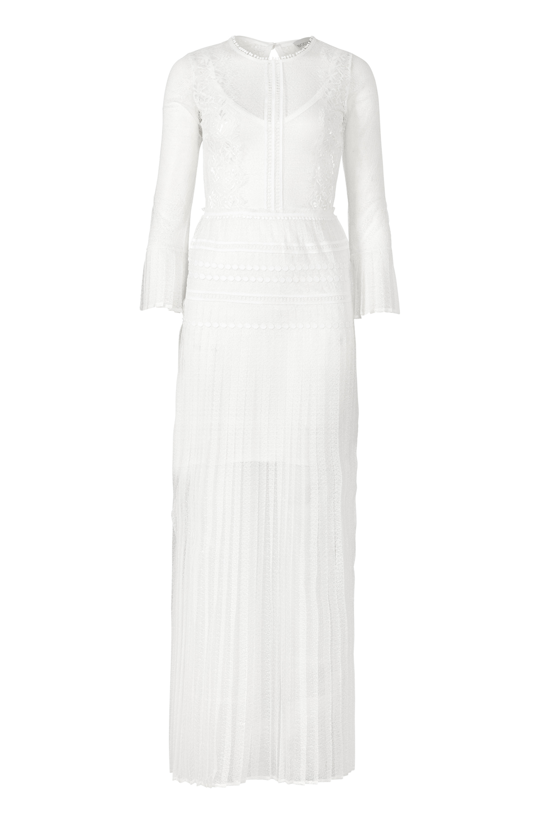 The Bluebell Ivory by Body Frock front