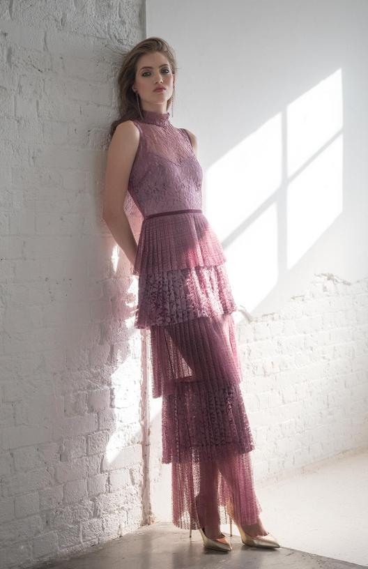 The Rachel smokey pink