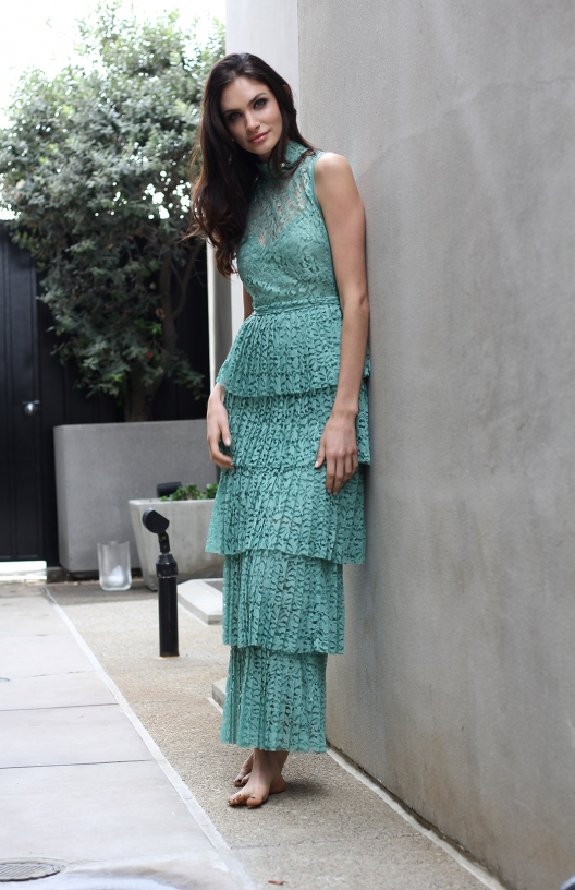 The Gigi Maxi seafoam